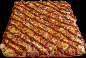 Full BBQ Chicken Pizza