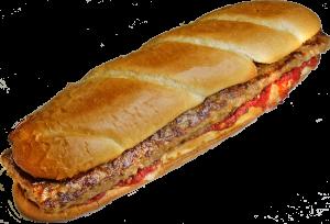 12 Inch Sausage Parmesan Sub