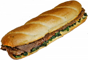 12 Inch Steak in the Grass Sub