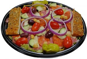 Antipasto Salad with Breadsticks